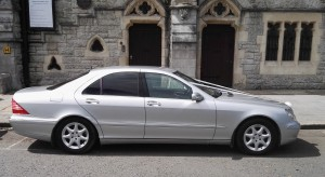 Our Silver Mercedes S Class